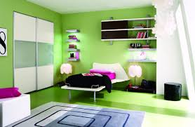 Teenage Bedroom Wall Colors - interior lovable awesome interior teen bedroom design using