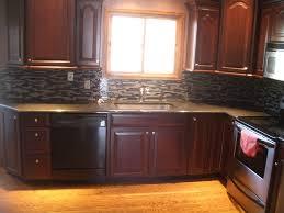 kitchen faucet splitter black glass countertop adhesive tiles kohler coralais