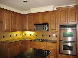 Kitchen Light Under Cabinets by Minimalist Rustic Kitchen Interior Design With Fresh Under Cabinet