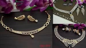 light diamond necklace images Beautiful diamond necklace designs light weight diamond necklace jpg