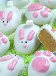 reese s easter bunny white chocolate easter bunnies omg chocolate desserts