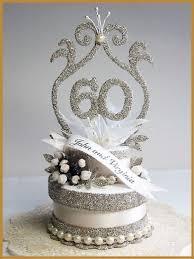 60th wedding anniversary ideas 60th wedding anniversary cake topper ideas melitafiore