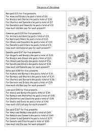 key stage 2 christmas maths puzzles by vicbobmac1 teaching
