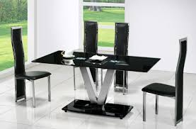 Modern Dining Room Table With Bench Dining Room Black Modern Dining Room Furniture Designs With Cool