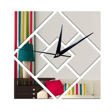 Decorative Wall Clocks For Living Room Online Get Cheap Shape Clocks Aliexpress Com Alibaba Group