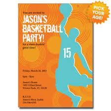 free basketball birthday invitation templates cloveranddot com