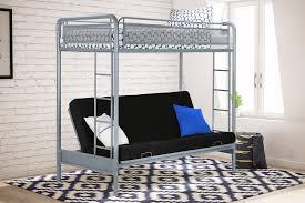 dhp furniture rockstar twin futon bunk bed