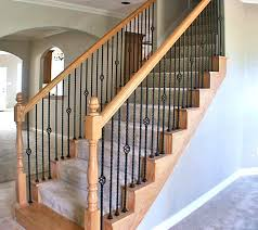 How To Refinish A Wood Banister 7 Best Images About Staircase Remodel On Pinterest Cable Oak