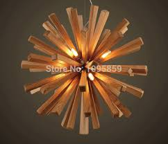 Wooden Chandeliers Lighting Glamorous 90 Modern Wood Chandelier Decorating Design Of