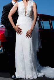 zavana bridal custom made wedding dress on sale 30 off