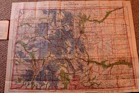 Map Of The State Of Colorado by Colorado Maps Old Scarce And Antique Mt Gothic Tomes And Reliquary