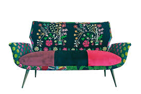 sofa bunt flower power sofa bokja auf deco de