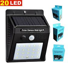 Led Solar Security Light With Motion Detector by Solar Motion Sensor Security Light Solar Motion Sensor Security