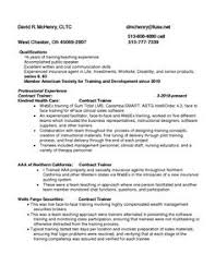 Sample Resume For Insurance Agent by Aviation Resume Example Resume Examples