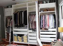wardrobe awesome ikea wardrobe with drawers elvarli shelf unit