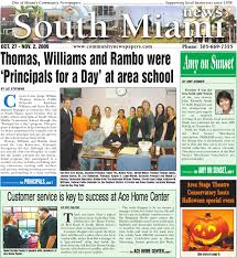 south miami news october 27 2009 edition local community news