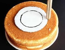vertical layer cake tutorial surprise inside cake i am baker
