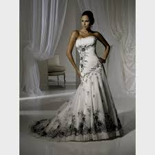 black and white wedding dresses cheap black wedding dresses wedding ideas