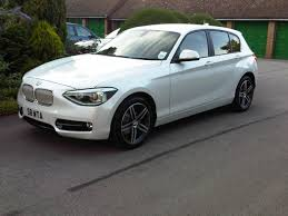 2014 Bmw 116i On The Lot New Mineral White 116i Sportline F20