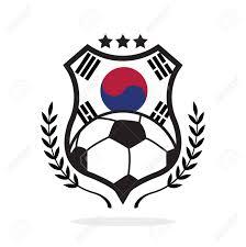 Flag Football Play Designer South Korea National Flag Football Crest A Logo Type Illustration