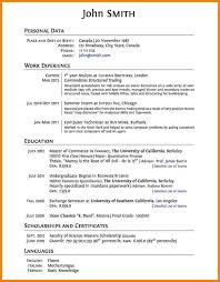 high resume template for college application college