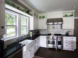 wonderful white kitchen cabinets with stainless appliances bright