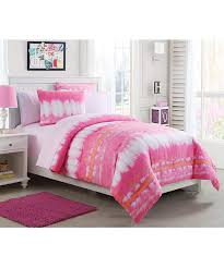 Tie Dye Comforter Set Vcny Home Pink Lemonade Tie Dye Bedding Set Zulily