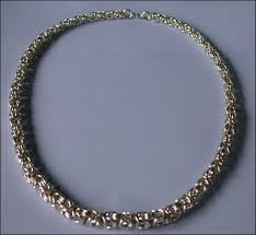 byzantine necklace images Graduated byzantine necklace tutorial midwest maille jpg