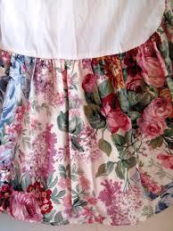 ralph lauren queen bed skirt allison dust ruffle shabby chic