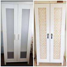 budget ikea hack complete aneboda wardrobe fabric from www