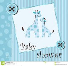 baby shower for boy baby shower boy stock vector illustration of boys 23437770