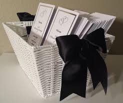 basket for wedding programs wedding program basket wedding 10 5 13 wedding