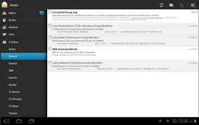 android mail client revealed ibm lotus traveler s new client for android tablet