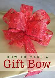 gift wrapping bows how to make a gift bow adventures of a sick