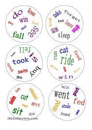 the 25 best irregular verbs ideas on pinterest english verbs