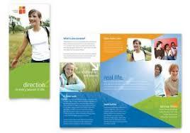 free church brochure templates for microsoft word prayer meeting