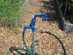Liberty Garden Bib Hose Rack 693 The Home Depot Outdoor Water Spigot Extension Outdoor Designs