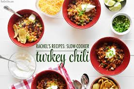 slow cooker turkey chili the chic site