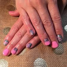 easy nail art designs 1 diy pretty black pink silver pink and