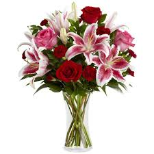 stargazer lilies burgundy stargazer bouquet at send flowers