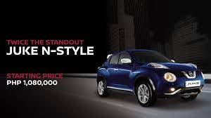 juke nissan nissan to sell only 500 units of juke n style in the philippines