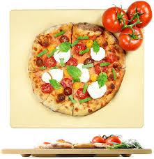 amazon com crustina rectangular pizza stone 14 x 16 inch