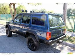 jeep dark blue 1994 dark montego blue pearl metallic jeep cherokee sport