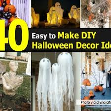 Easy To Make Halloween Decorations Great Easy To Make Halloween Decorations 83 With Additional Home