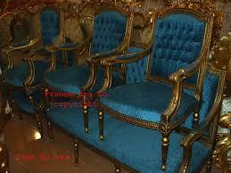 canape francais la française louis xvi sculpté en bois doré salon set canape de
