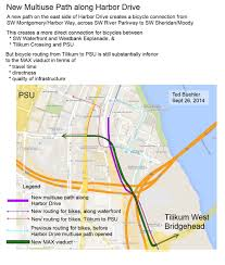 Portland Trimet Map by New Trimet Path Carves Better Route To South Waterfront But Psu
