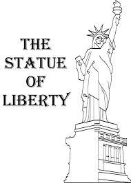american statue liberty coloring download u0026 print