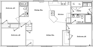 ranch house floor plan simple ranch floor plans