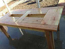 cushions for pallet patio furniture exterior outdoor table design ideas then scrubbed it with the