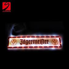high quality led lights high quality led light up bar drink mat view drink rail mat js led